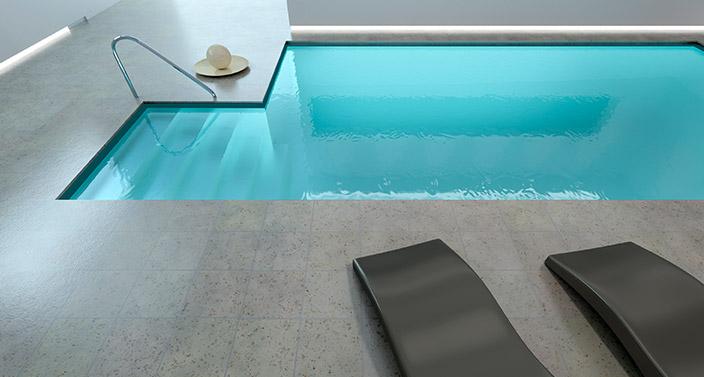 propane heated pool